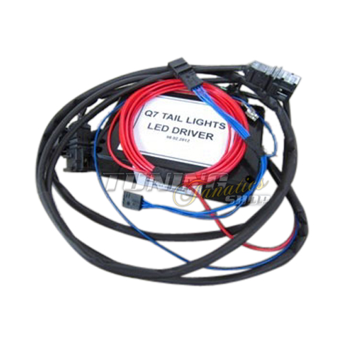 Adapter Cable Loom Interface for Audi Q7 4L 2009- Facelift LED Rear ...
