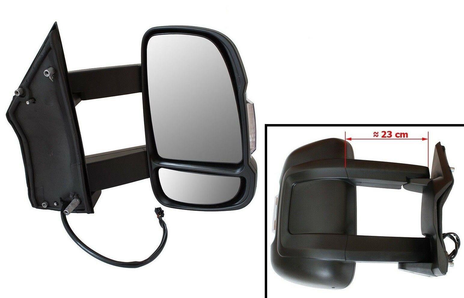 Für Fiat Ductao III 2006 RECHTS Außenspiegel LANG ARM VERSION elektr Wohnmobil