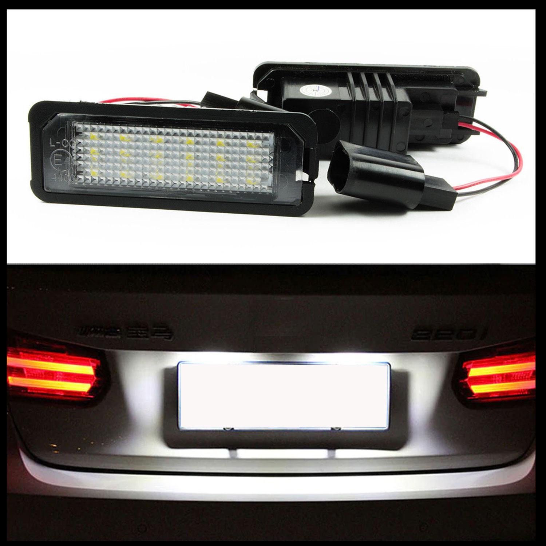 2x LED Kennzeichenbeleuchtung KIA Hyundai Nummernschildbeleuchtung