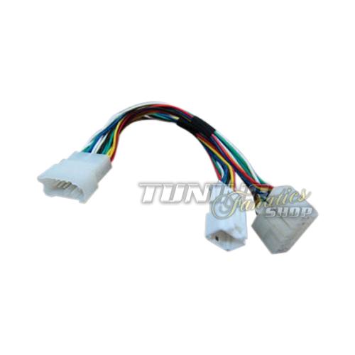 y adapter kabel verteiler f r toyota 5 7 pin mp3 cd. Black Bedroom Furniture Sets. Home Design Ideas