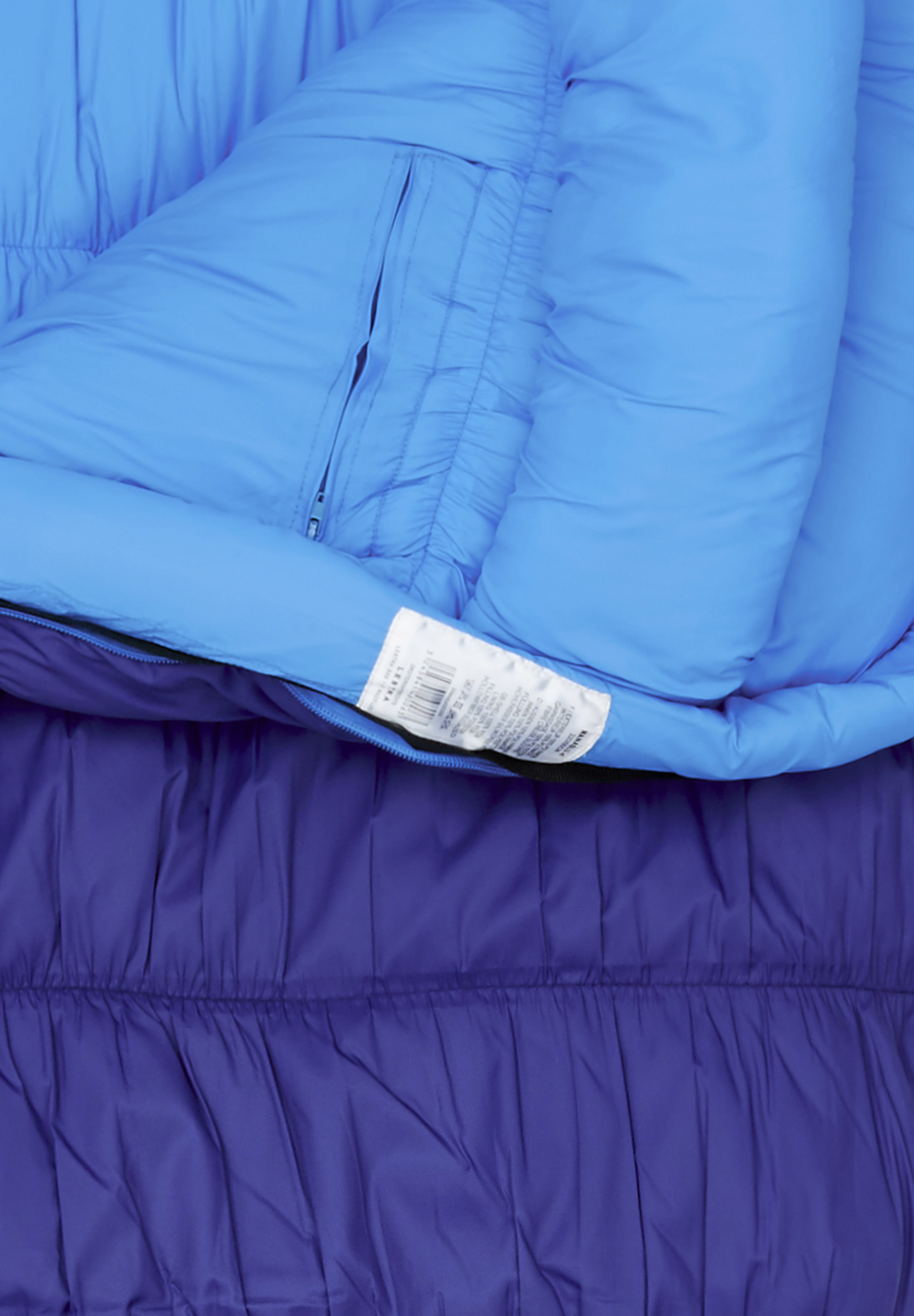 Lestra Schlafsack Mumienschlafsack Manaslu bis 20 Grad Schlafsack Blau//Blau