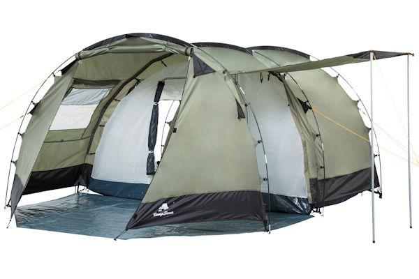campfeuer tunnelzelt familienzelt campingzelt zelt 4. Black Bedroom Furniture Sets. Home Design Ideas