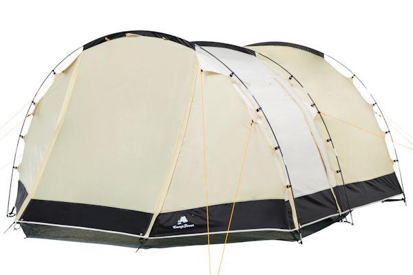 CampFeuer Tunnelzelt für 4 Personen, Modell 1018_5, Zelt, Zelte, Camping, Campen, Campingzelte, Campingzelt, Tunnel Zelt