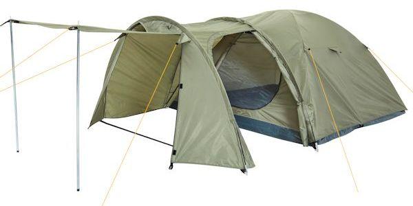 campfeuer kuppelzelt iglu zelt mit vorbau f r 3 4 personen 4260120773765 ebay. Black Bedroom Furniture Sets. Home Design Ideas