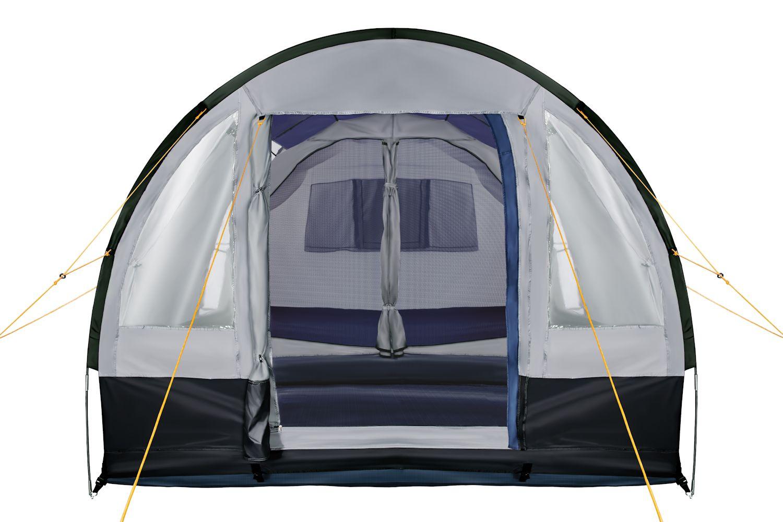 campfeuer campingzelt 4 personen tunnelzelt camping zelt. Black Bedroom Furniture Sets. Home Design Ideas