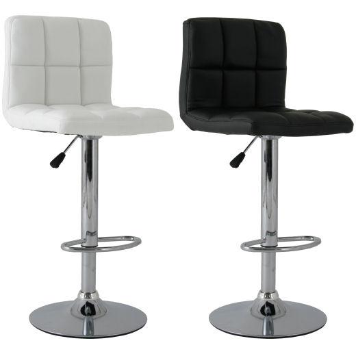 Barstühle 2x barcelona barhocker barstuhl gesteppt lounge farbauswahl neu ebay