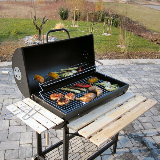 Barbecue-Holzkohlegrill Holzkohle-Grill