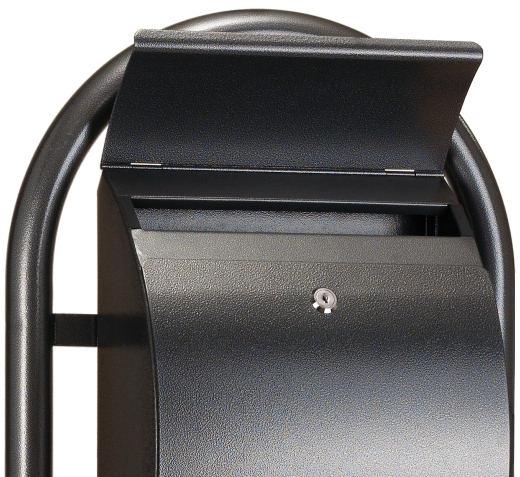 Standbriefkasten Anthrazit briefkasten freistehend anthrazit briefkasten freistehend mit