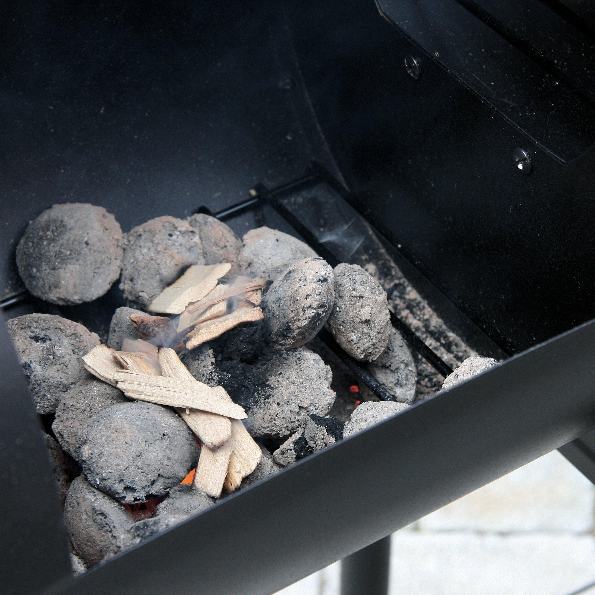 BBQ-Toro Holzkohle Grillwagen Magnolia