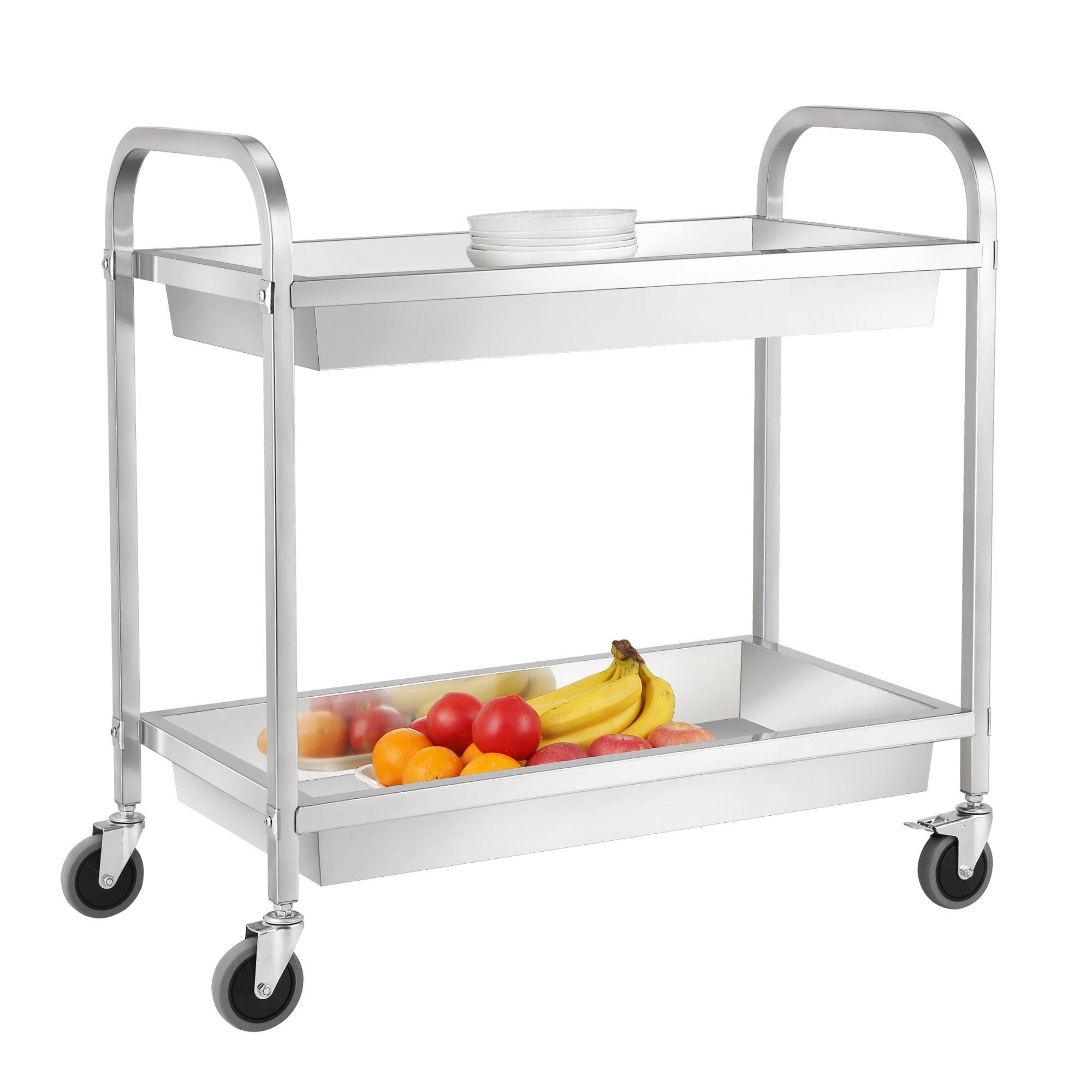 Küchentrolley Edelstahl ~ zelsius edelstahl servierwagen küchenwagen küchentrolley gastro transportwagen ebay
