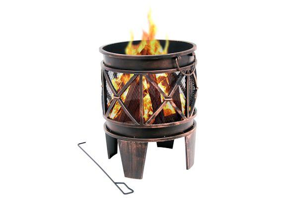 Feuerschale Feuerstelle Gartenfeuerstelle Ascheschale Terrassenofen