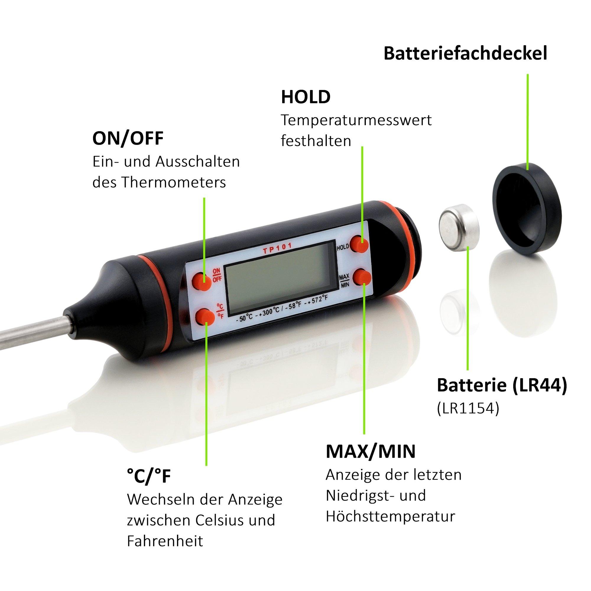 BBQ-Toro Fleischthermometer