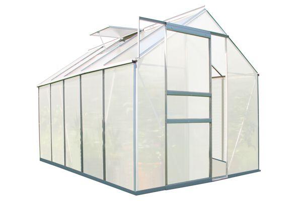 zelsius gro es aluminium gew chshaus 310 x 190 cm 6 mm platten cs clever. Black Bedroom Furniture Sets. Home Design Ideas