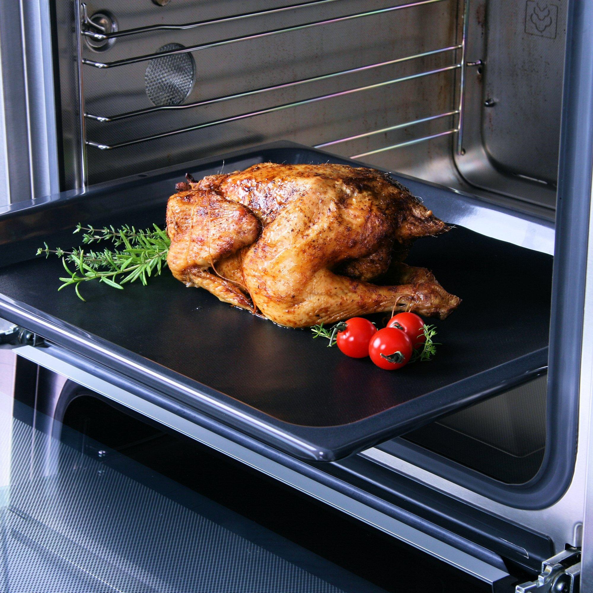 bbq toro premium grillmatten set 5 st ck 40 x 33 cm dauerbackmatte bbq der. Black Bedroom Furniture Sets. Home Design Ideas