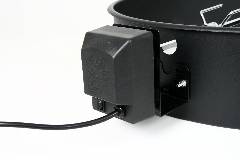 BBQ-Toro Grillspieß Set mit Motor für 47 cm Kugelgrill
