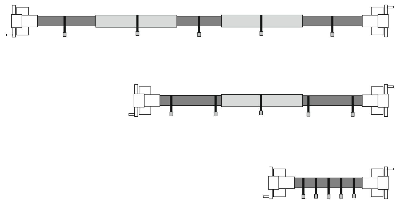 Zelsius 8er Set Haltebänder für Poolaufroller
