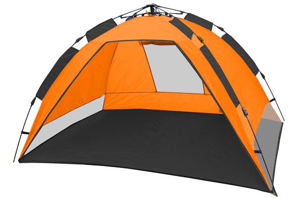 Strandmuschel, Beachtent, Pop Up Zelt, CampFeuer