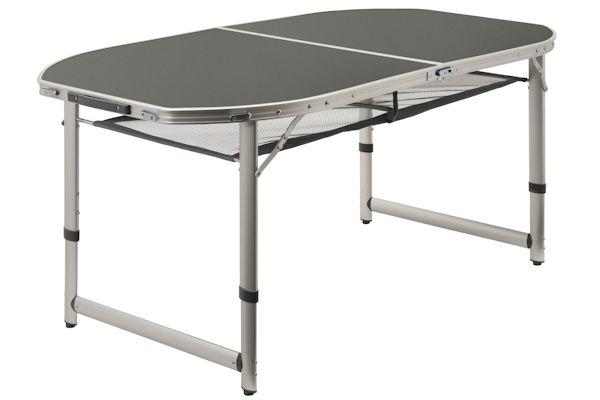 campfeuer campingtisch 150 x 80 cm klapptisch falttisch gartentisch klappbar ebay. Black Bedroom Furniture Sets. Home Design Ideas