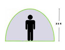 Skizze Tunnelzelt