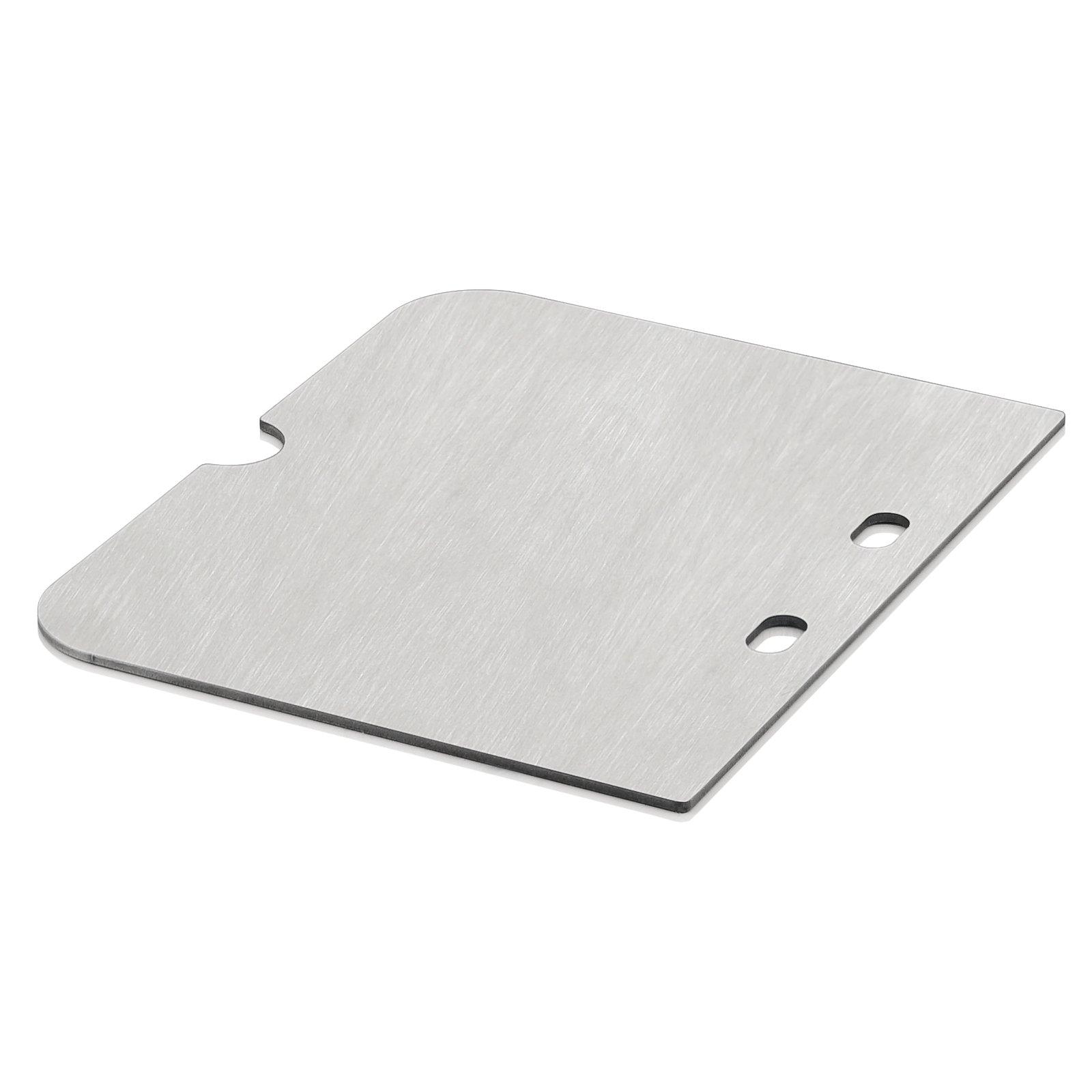 BBQ-Toro Edelstahl Grillplatte passend für Weber Go Anywhere