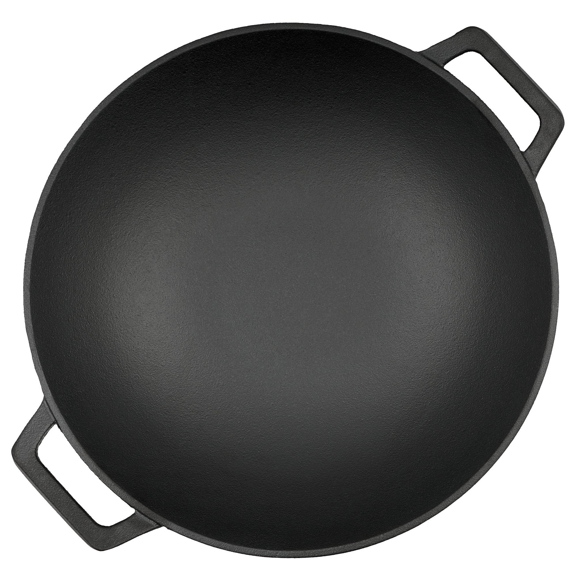 bbq toro wok pfanne 35 5 cm asiatische gusseisen china. Black Bedroom Furniture Sets. Home Design Ideas