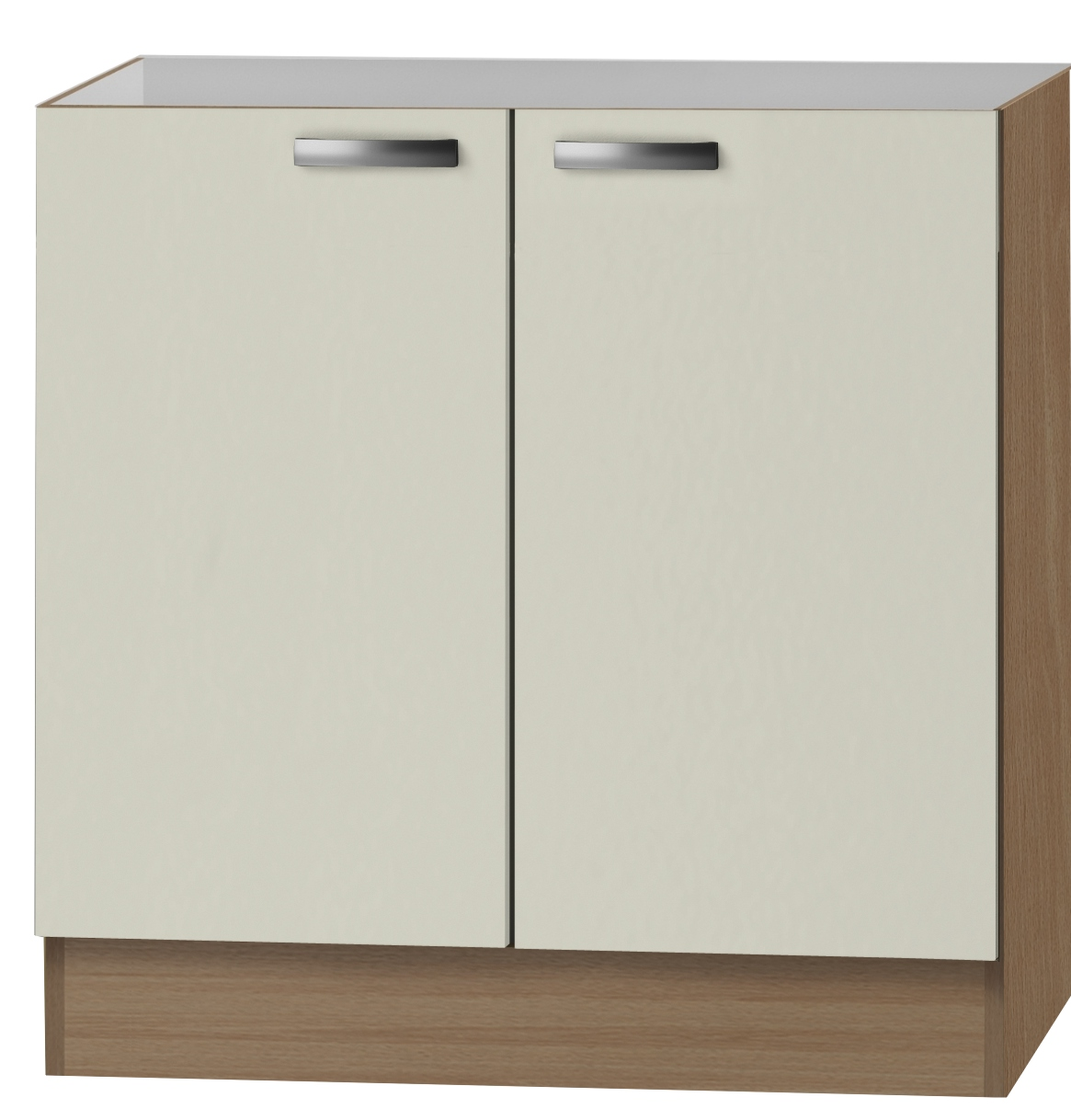 klassik60 sp lenschrank 80 cm breit creme splo806 4011935840261 ebay. Black Bedroom Furniture Sets. Home Design Ideas
