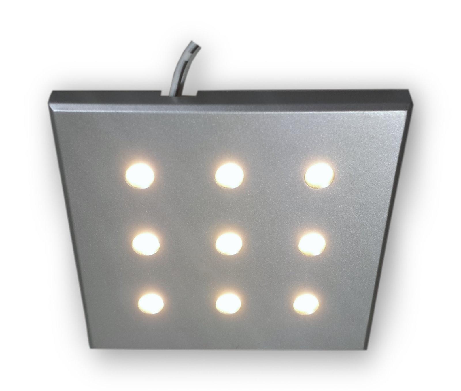 3x 2 2w 12v Led Leuchten Set Mobellampen Unterbau Strahler