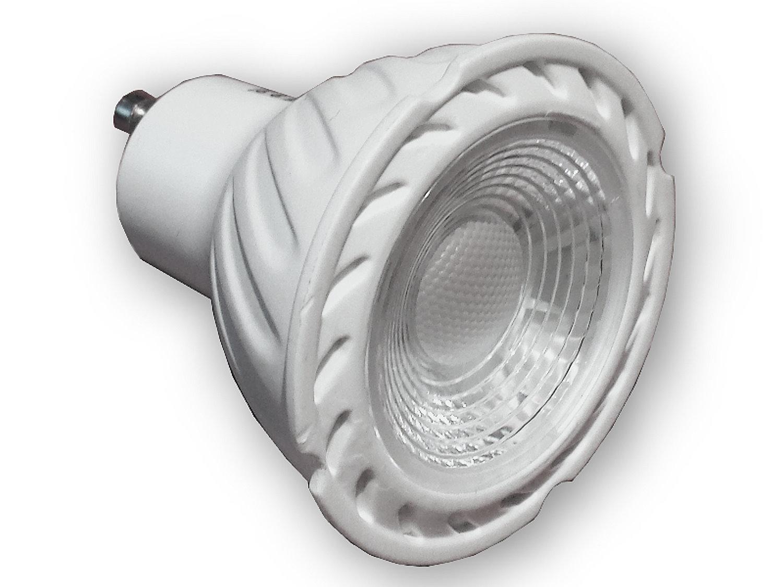 gu10 led einbaustrahler 230 v dimmbar strahler leuchten spots 68er lochbohrung ebay. Black Bedroom Furniture Sets. Home Design Ideas