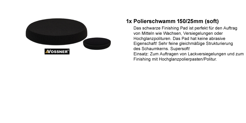 vossner exzenter poliermaschine stufenlos regulierbar 8mm. Black Bedroom Furniture Sets. Home Design Ideas