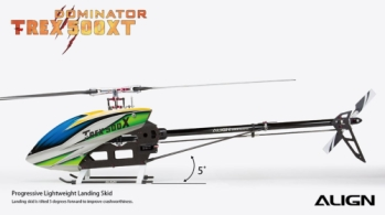 Align T-REX 500XT Dominator Top Combo RH50E25X Flybarless Helicopter