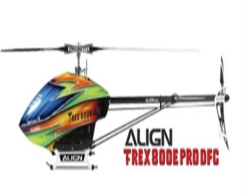 Align T-REX 800E PRO DFC Kit RH80E12X Flybarless RC Helicopter