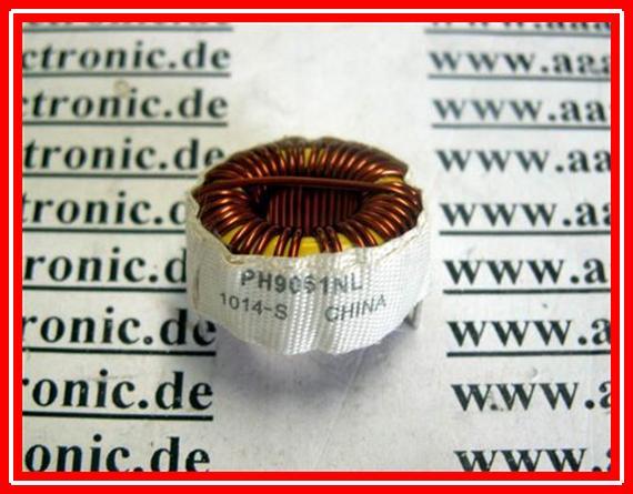POWER INDUCTOR 67µH 3,6A PH9061NL 21mm RA=21mm (5 Stk.) | eBay