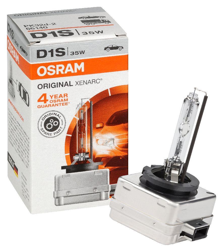 2x osram d1s hid xenon bulb xenarc 66140 35w headlight globes replacement ebay. Black Bedroom Furniture Sets. Home Design Ideas