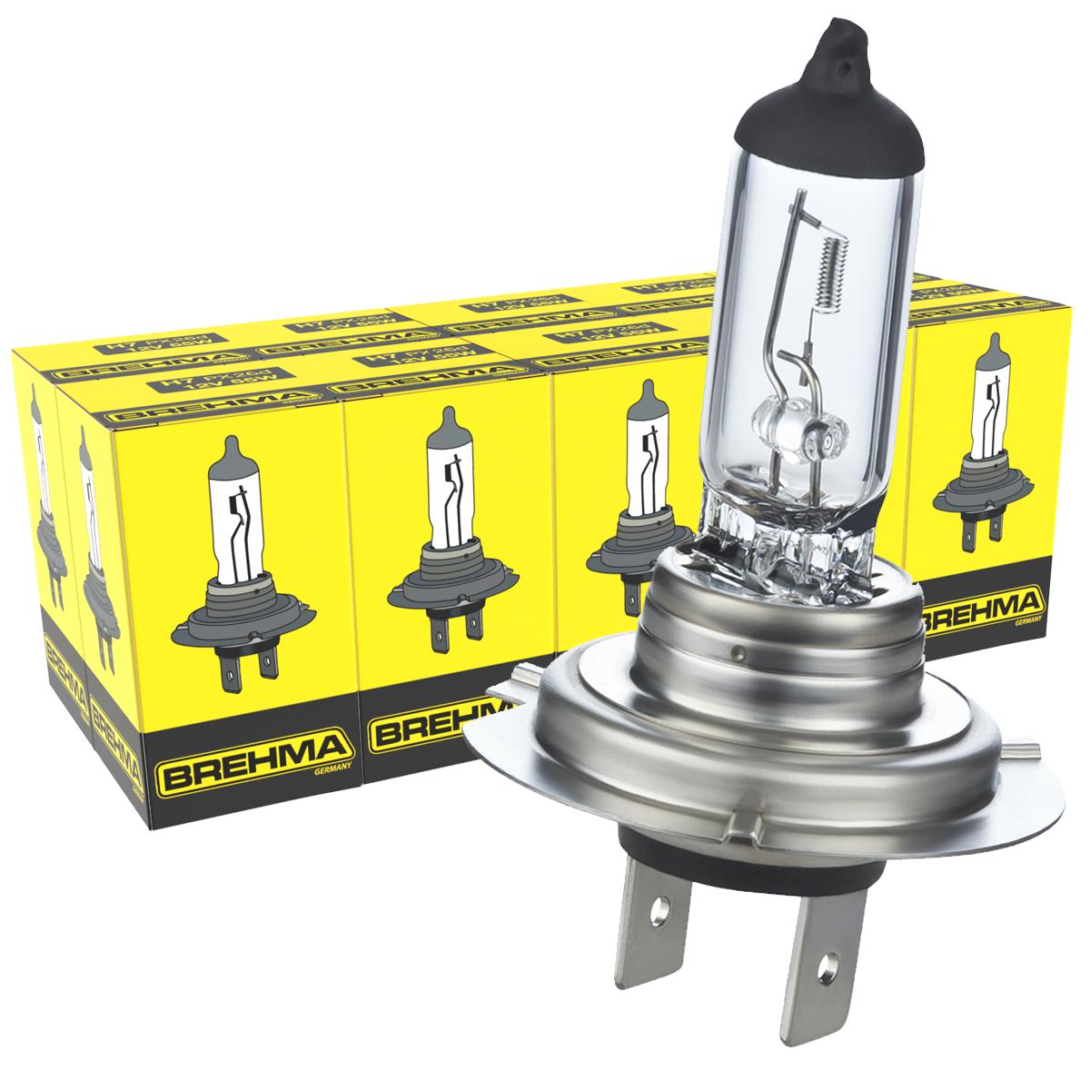 HALOGEN H7 LAMPE BIRNE GLÜHLAMPE 12V 55W PX26D