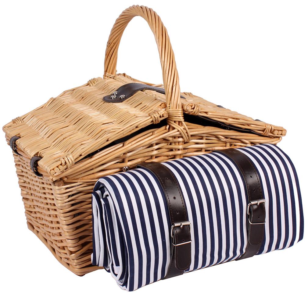 picknickkorb 4 personen k hltasche picknickkoffer picknicktasche decke neu ebay. Black Bedroom Furniture Sets. Home Design Ideas