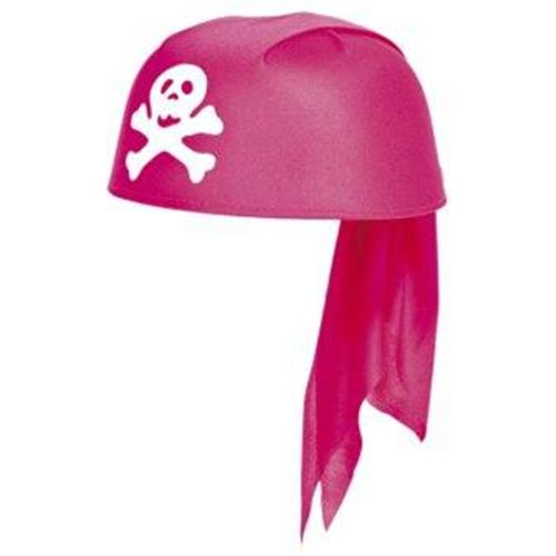 Kinder Hut Piraten Girl Pink F21596
