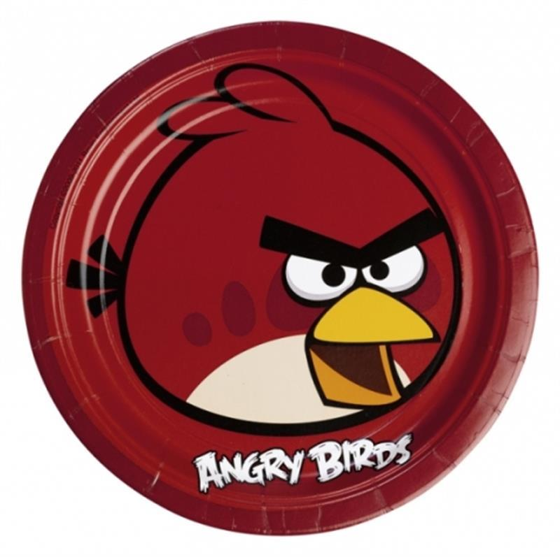 **Angry Birds 8 PAPPTELLER 23cm a552360--