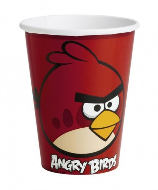 **Angry Birds 8 PAPPBECHER a552362--