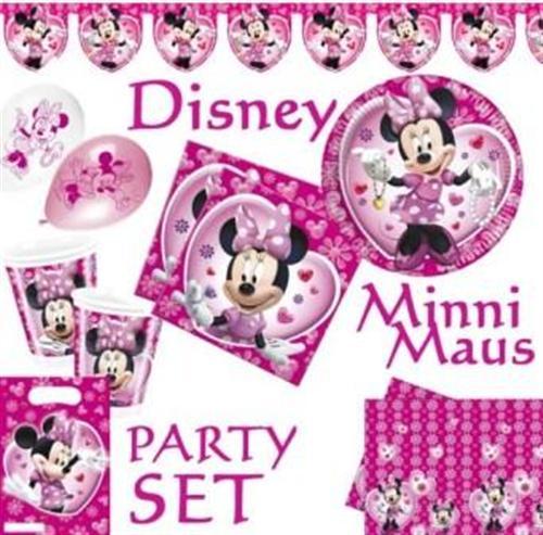 Minnie Maus TELLER 10er-Pack P5733--