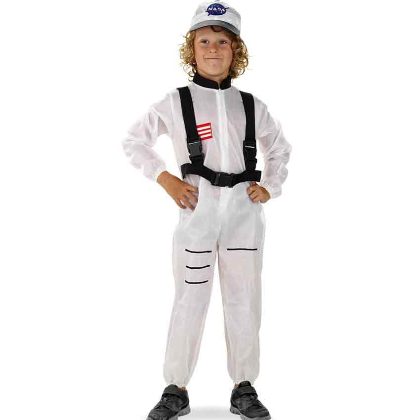 kinder kost m astronaut weltraum anzug verkleidung karneval gr e m l fasching ebay. Black Bedroom Furniture Sets. Home Design Ideas