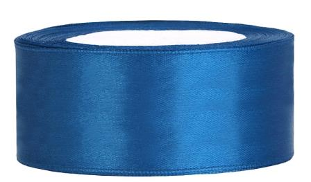 Satin Band 25mm TS25-001 blau
