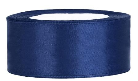 Satin Band 25mm TS25-074 dunkelblau'