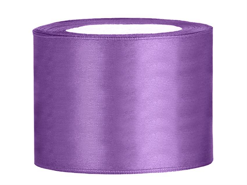 Satin Band 50mm TS50-002 lavendel