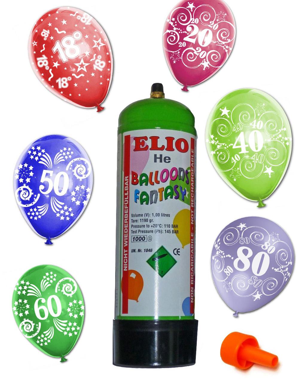 8 Latexluftballons Verkehrsschild 16 Party Wunschzahl Feier Fete Ballon