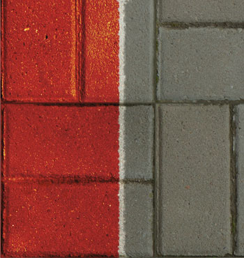 Farbe für pflastersteine