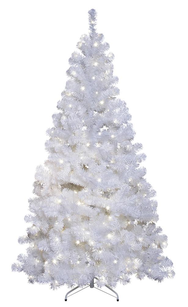 Künstlicher LED Weihnachtsbaum weiß 210 cm 260 LEDs daylight **Top ...