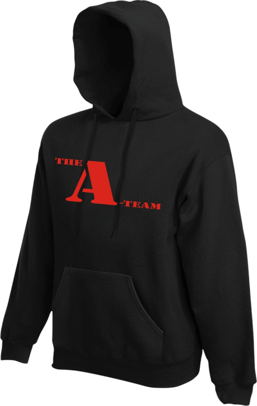 The A-Team Hoodie KAPUZENSWEATER Pulli Pullover für Fans der TV Serie Film Mr. T