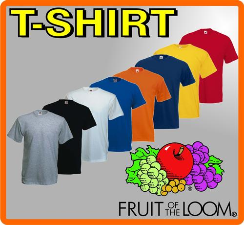 FRUIT OF THE LOOM  T-Shirt IN 8 FARBEN S M L XL XXL 3XL TOP ANGEBOT