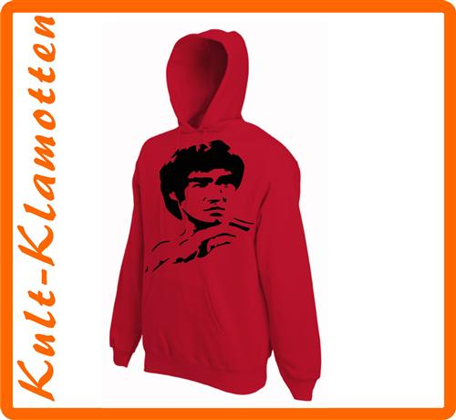 Bruce Lee Kult KAPUZEN SWEATER Fun Kung Fu Action Neu S M L XL XXL TOP ANGEBOT