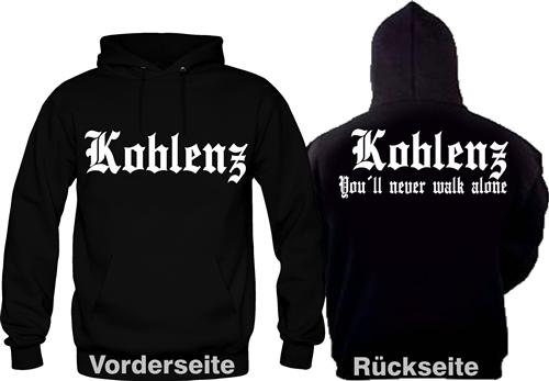Koblenz Fan Hooded Ultras Fussball Kult S-XXL